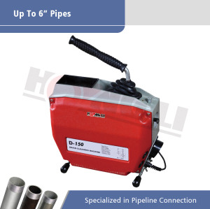 D150 Electric Sectional Drain Cleaning Machine