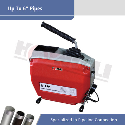 D150 Listrik Sectional Drain Cleaning Machine