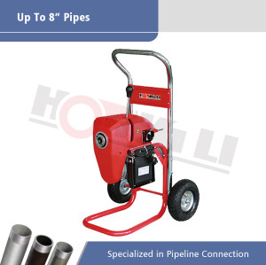 D200-1A máquina de limpieza de drenaje seccional eléctrica