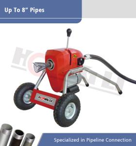 D200-1 Máquina de limpieza de drenaje seccional eléctrica
