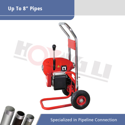 D200A Electric Sectional Drain Cleaning Machine