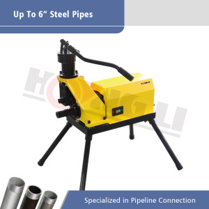 YG6D-A Hydraulic Pipe Grooving Machine for 2