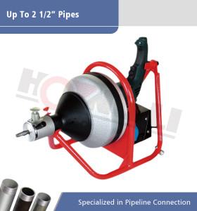 Limpiador de drenaje de potencia manual