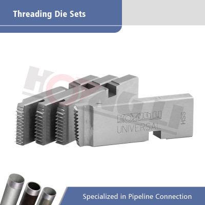 Pipe Threading Machine Die Sets Fit RIDGID Electric Pipe Threaders