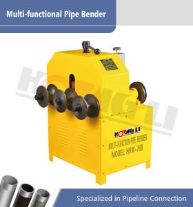 HHW-76B Multifuncional doblador redondo y cuadrado de tuberías