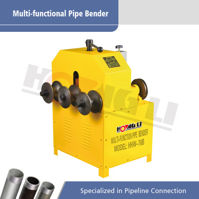 HHW-76B Multifungsi Round and Square Pipe Bender