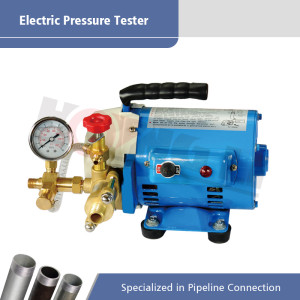Electric Pressure Testing Pump Portable for Pipe Use DSY60/60A