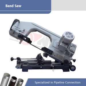 Multi-functional Portable Square and Round Bar Band Saw