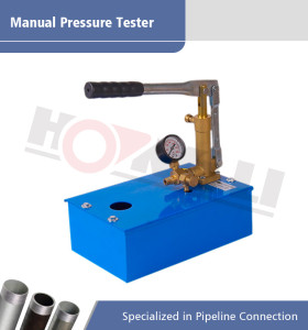 Bomba de prueba manual de alta presión