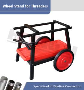 HL-672A Soporte universal para ruedas y bandejas para máquinas de roscar