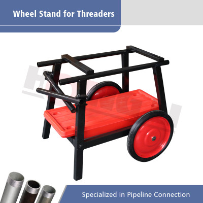 HL-672A Universal Wheel dan Baki Stand untuk Mesin Threading