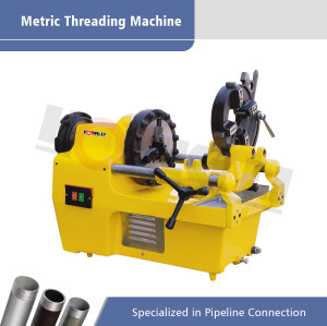SQ32 Steel Bar Thread Cutting Machine M10-M33
