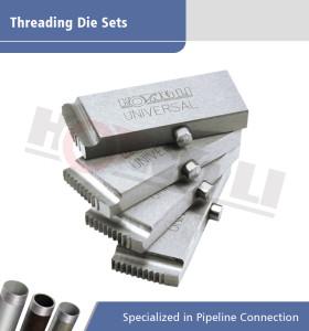 Troqueles para roscar de tubos de acero enhebrar la máquina