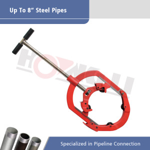 Hinged Pipe Cutters Cold Cutting for Pipes of 1