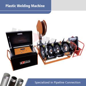 Máquina automática completa de la fusión de extremo a tope para los tubos de 63m m-400m m