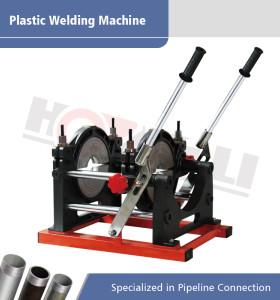 Máquina de fusión de soldadura a tope manual