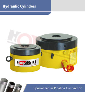 Cilindro hidráulico hueco de la serie CLP