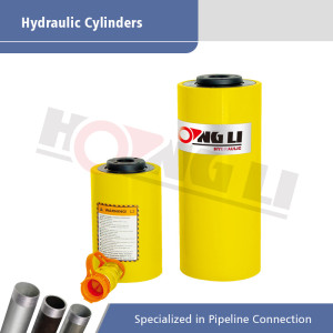 RCH Series Hydraulic Cylinder with Capacity of 12-100 Ton
