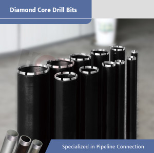 Soldered Welded Core Drill Bits