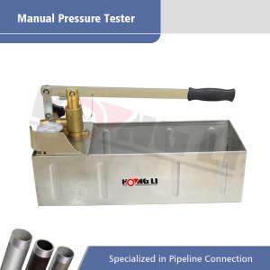 HSY30-5S Hand Test Pump dengan Tangki Air Stainless Steel