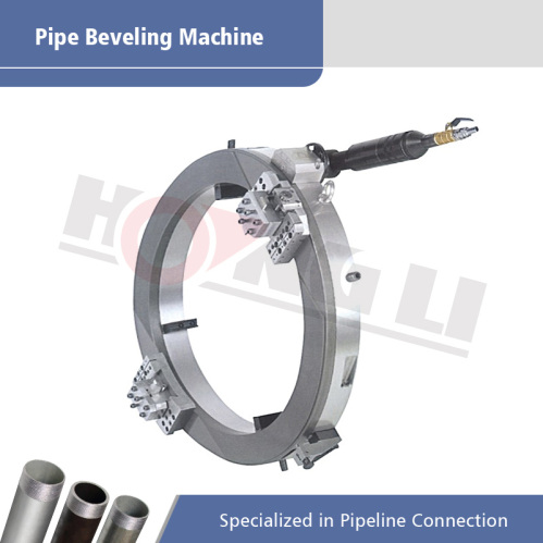 pneumatic pipe cutting beveling machine
