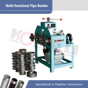 HHW-G76 Rodillo redondo y tubo cuadrado Bender