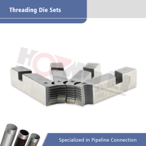 Electric Pipe Threading Machine Dies for SQ50B1, SQ80D1, SQ100D1 Steel Pipe Threading Machines