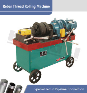 HL-50 máquina de laminación de rosca de barras