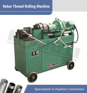 HL-40E máquina de laminación de rosca de barras