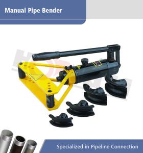 HHW-1A plegadora de tubos manual hidráulica