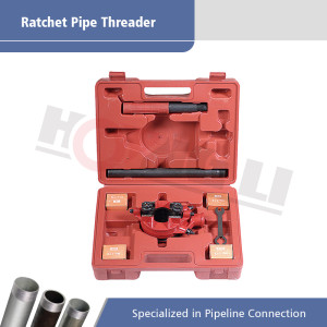 Ratchet Pipe Threader With Carrying Case For 1/2 Inch to 1 1/4 Inch Pipe HL-112