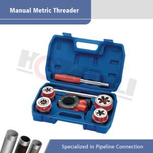 HL-62M Hand Pipe Ratchet Threader for Metric Threading