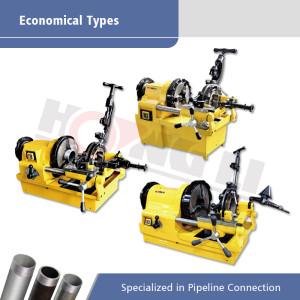 Tipe Ekonomis Mesin Threading Pipe Elektrik dalam Promosi untuk Pipa hingga 4 Inci