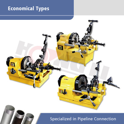 Economical Types of Electric Pipe Threading Machines for Pipes up to 4 Inch