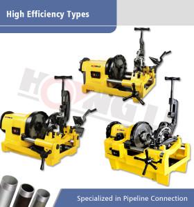 Tipos de alta eficiencia de máquinas para roscar tubos eléctricos en promoción para tuberías de hasta 4 pulgadas