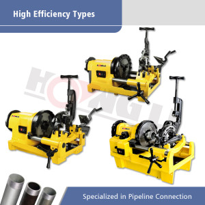 High Efficiency Types of Electric Pipe Threading Machines in Promotion for Pipes up to 4 Inch