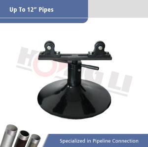 1105 Soporte de tubería para ranuras de tubería de rodillo