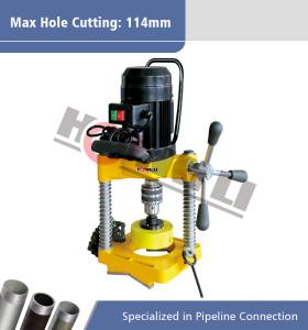 JK114 Lubang Pipa Mesin Pemotong Listrik untuk Max 8