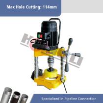 JK114 Electric Pipe Hole Cutting Machine for Max 8