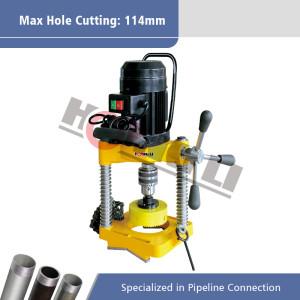 Cortadora eléctrica del agujero del tubo JK114 para las tuberías máximas de 8