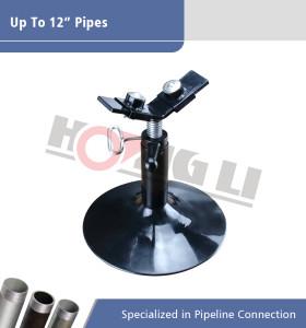 1106 Soporte de tubos para ranuras de tubos con rodillos