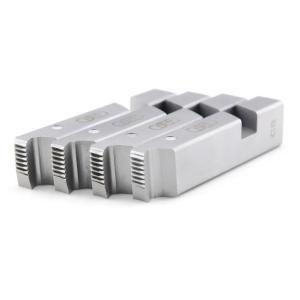 虎王电动套丝机板牙100型碳钢板牙消防水管英制板牙1/2-4寸