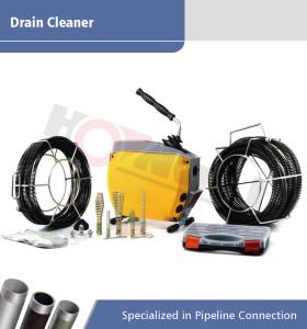 Máquina de limpieza de drenaje eléctrico A150