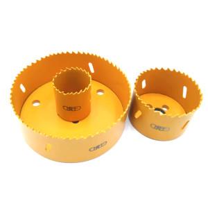 M3虎王管道开孔器通用孔锯双金属机械三通镀锌钢管开孔机钻头配件