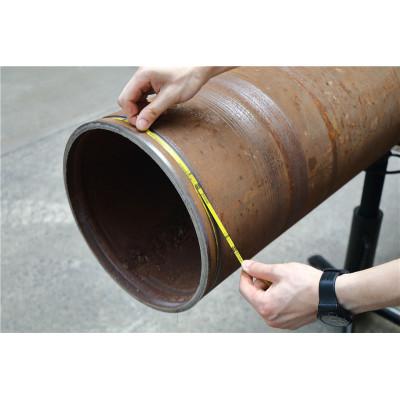 π Tape for Grooving Measuring on Pipes