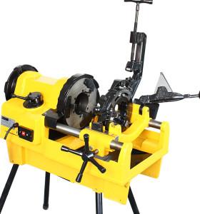 SQ100F虎王1/4-4寸高效电动套丝机三档调速重负荷套丝机