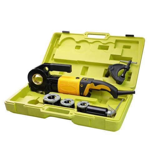 虎王SQ25A手持式电动套丝机1/2-1寸维修轻便款专用套丝机