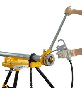 虎王12R便携式手动套丝机1/2-2寸经久耐用款维修专用套丝机