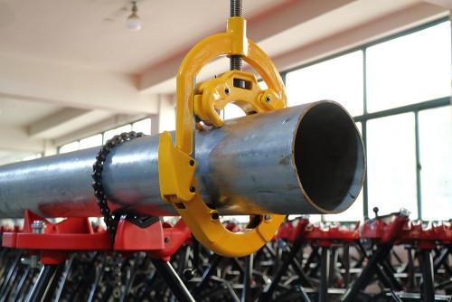 虎王H8S手动防爆割刀8寸大管子切割器铰接式加厚钢管铁管水管切割刀工具