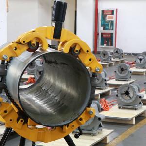 虎王H14S手动防爆割刀割管器旋转式切管机大管子冷切割刀五金工具